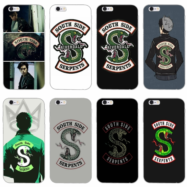 Iphone 5 Wallpaper Floral Tv Riverdale Southside Serpent Silicone Soft Phone Case