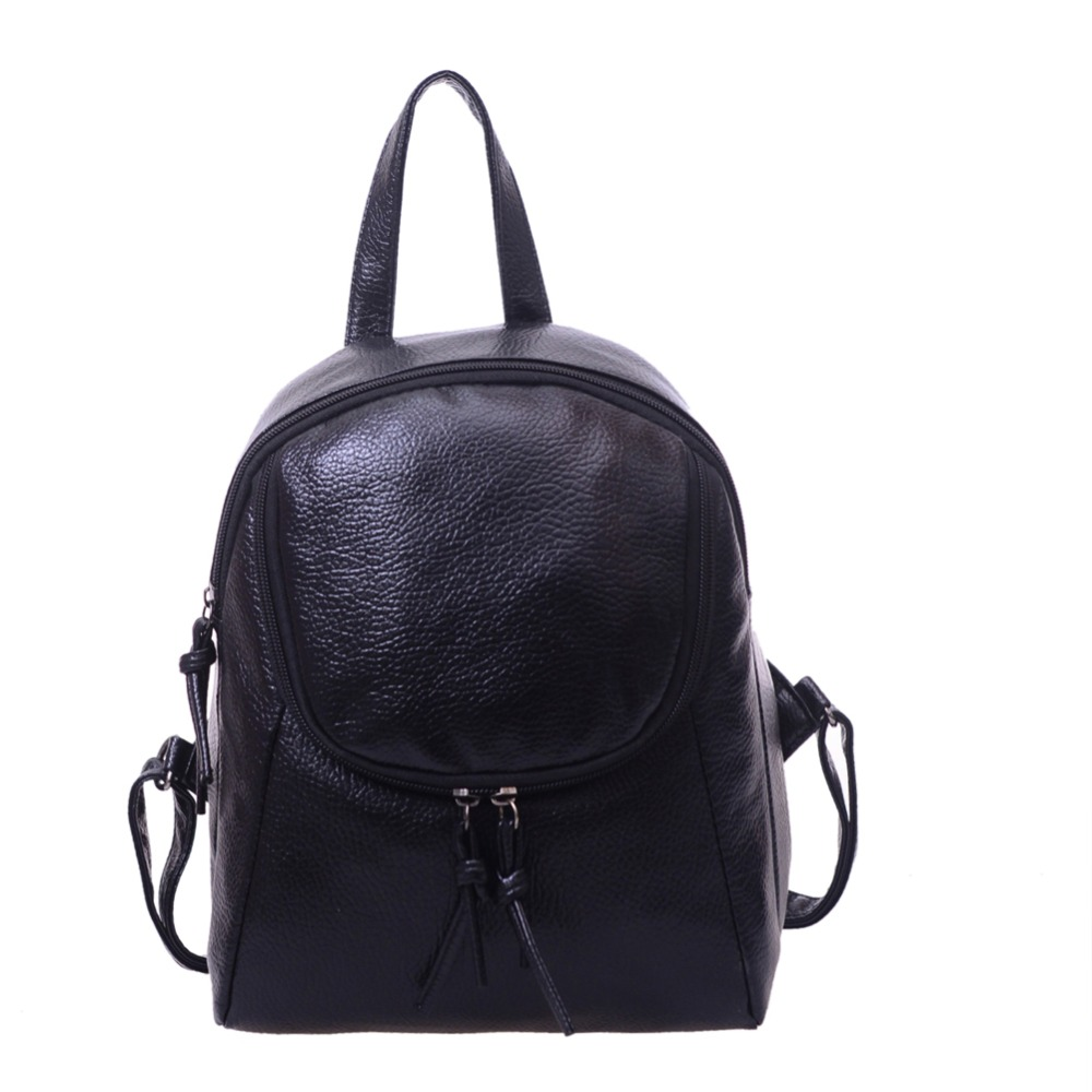 Fashion Women Backpack College Schoolbag Rucksacks For Teenage Girl Travel Pu Leather Small Backpacks Bolsa Feminina
