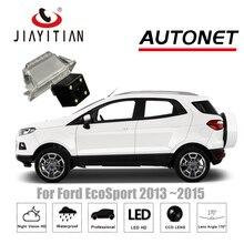 Câmera de Visão Traseira para Ford EcoSport ECO JIAYITIAN 2013 ~ 2018/CCD/Visão Noturna/Câmera Reversa/câmera da placa de licença de Backup Câmera