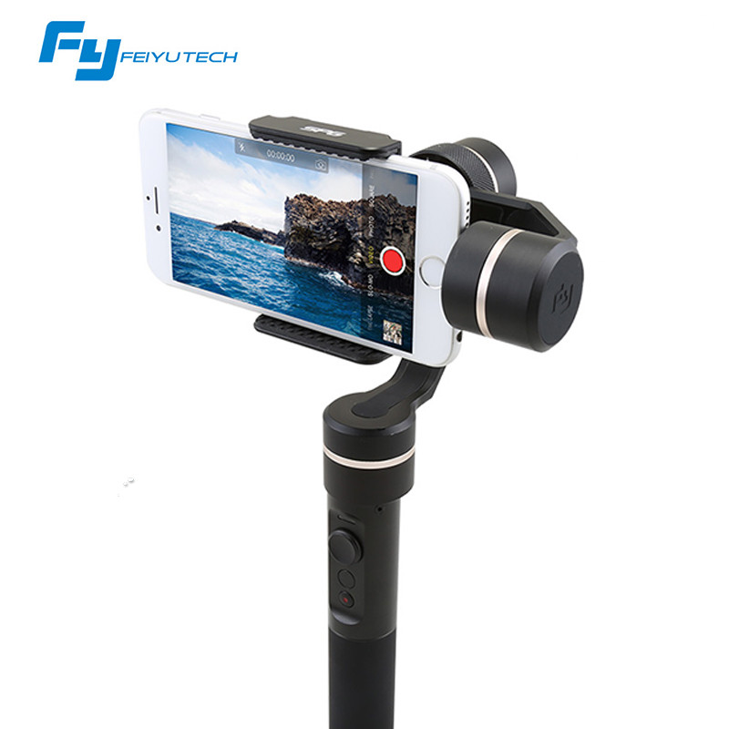 FeiyuTech SPG c 3-Axis Gimbal Handheld Smartphone Stabilizer for iPhone/Xiaomi/Samsung S7 Zoom Button Selfie Stick 2 axis smartphone handheld stabilizer mobile phone brushless gimbal with bluetooth for iphone for samsung for xiaomi for huawei