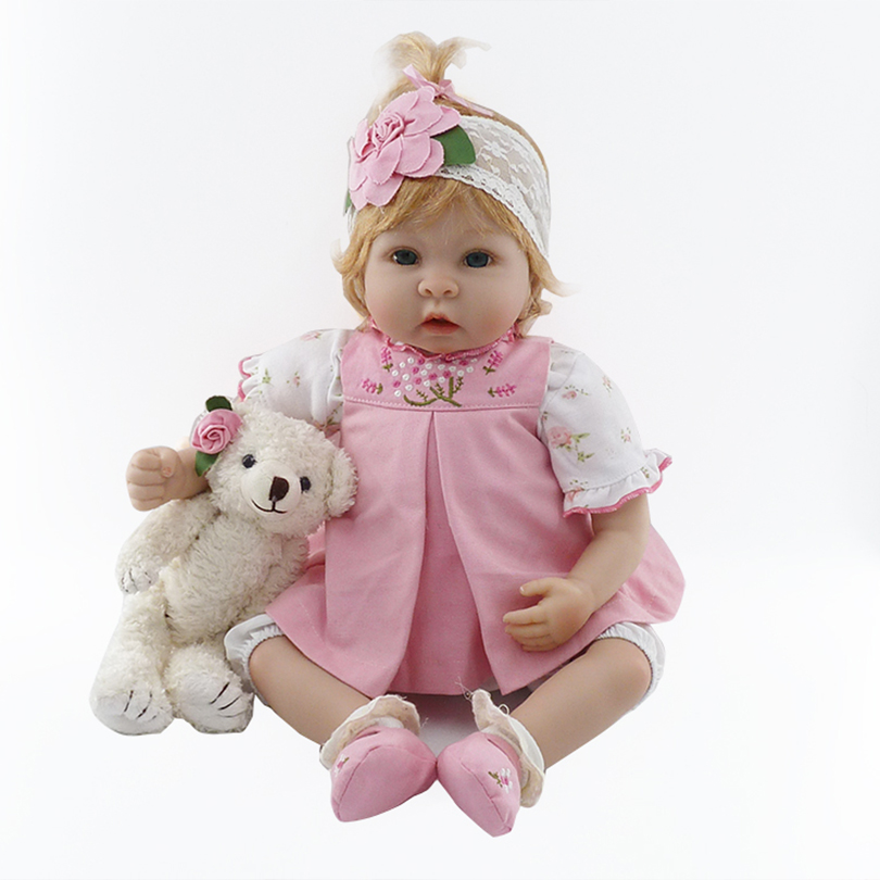 55cm Soft Cotton Fashion Toy Dolls Cute Lovely Realistic Educational Birthday Gifts Dolls for Girls of High Quality Toys