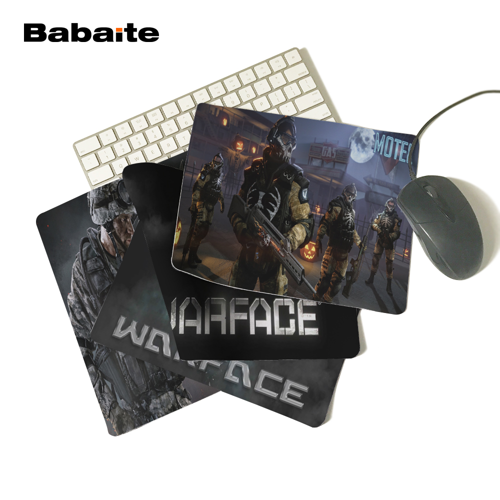 Babaite Wholesale Cheap Custom Warface Fiction TV Series Comfort Mouse Pad Mouse Mat Gift 250x290x2mm 180X220X2mm ...