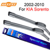 QEEPEI Wiper Blades For KIA Sorento 2002 2010 24 18 High Quality Iso9001 Natural Rubber Clean