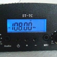 1 Вт/7 Вт ST-7C 76-108 МГц стерео PLL fm-передатчик вещательная радиостанция