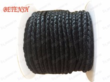 3mm Black Dragon Squama Braid Nylon Cord+17m/roll Jewelry Accessories Thread Macrame Rope  Bracelet Neckalce String