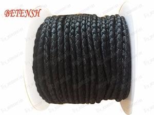 Image 1 - 3mm Black Dragon Squama Braid Nylon Cord+17m/roll Jewelry Accessories Thread Macrame Rope  Bracelet Neckalce String