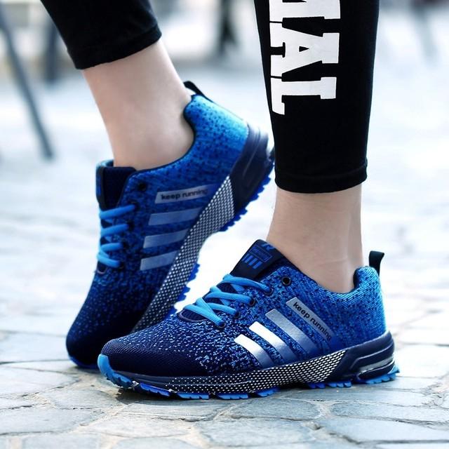 2018 hot sale Men Shoes men casual shoes Summer unisex Light weige Breathable mesh Fashion male Shoes sneakers Plus size 35-47