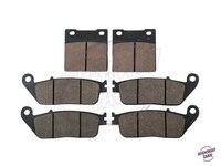 6 PCS Semi Metallic Motorcycle Disc Front Rear Brake Pads Brake Disk Case For SUZUKI GSF