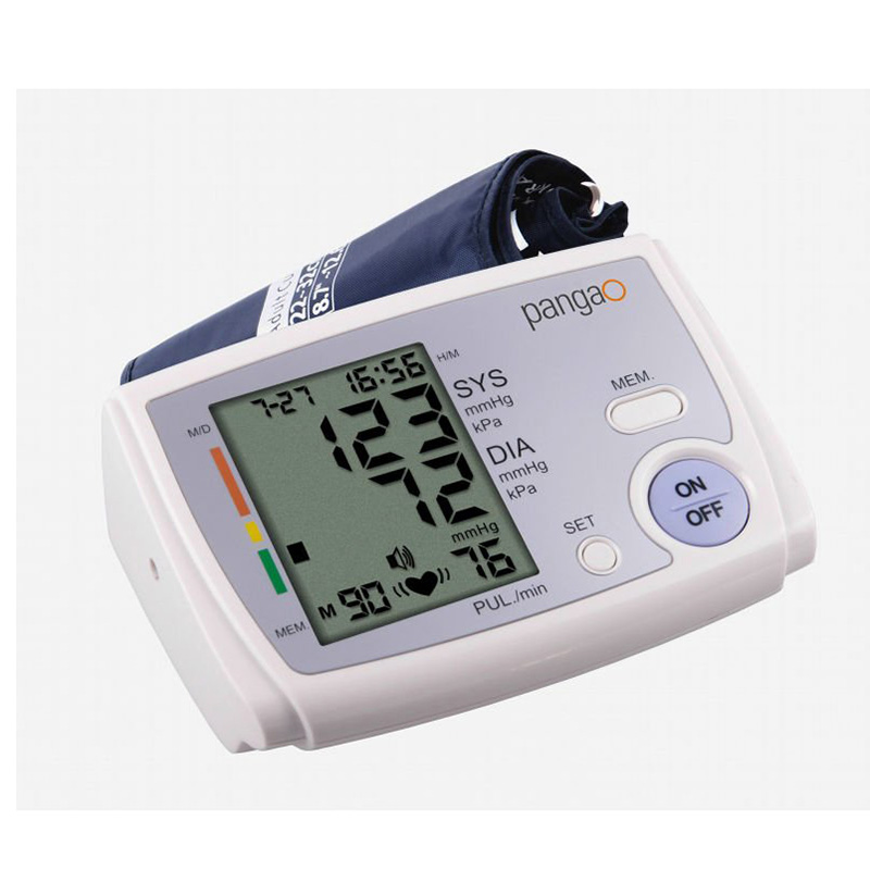 Digital Arm Blood Pressure Meter Automatic Pulse Monitor Sphygmomanometer Health Care Upper Tonometer Blood Pressure Monitors