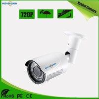 Hybird 720 P HD Камера Поддержка AHD/CVI/TVI/CVBS выход Водонепроницаемый 40 м ИК расстояние as-mhd8405r1