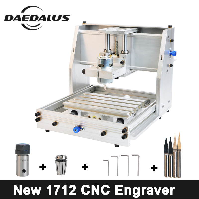 New 1712 ER11 CNC Router CNC Engraving Machine,Laser Engraving,PCB PVC Milling Machine,Wood Router,CNC 1712,Best Advanced Toys цена