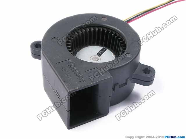 Emacro For Servo E0525H12B7AS-24 Server Blower Fan DC 12V 0.23A 48x48x25mm 3-wire free shipping emacro sf7020h12 61as dc 12v 250ma 3 wire 3 pin connector 65mm6 server cooling blower fan