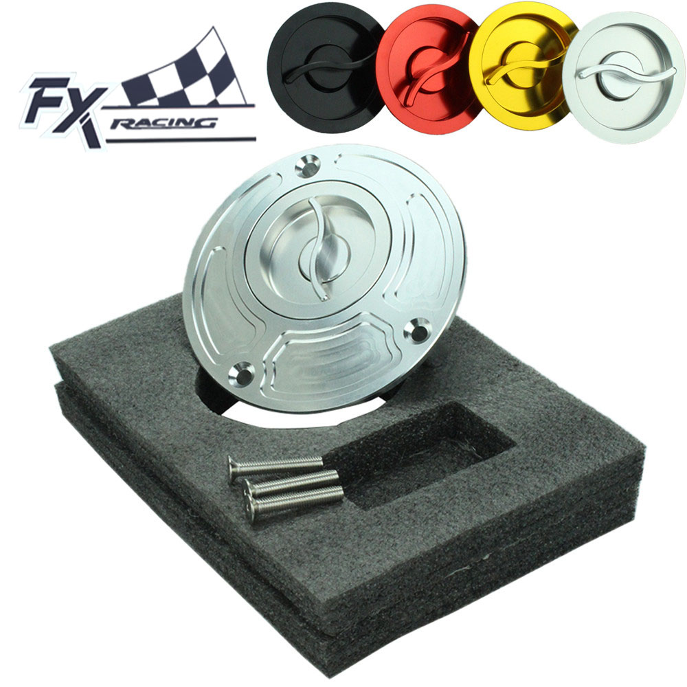 FX CNC 105mm Aluminum Motorcycle Fuel Tank Gas Cap Cover Keyless For Yamaha YZF R3 R25 FZ8 FZ16 MT01 YZF R15 XSR 700 900 ABS XJ6 фотообои komar prayer flags ng 1 84х1 27 м 1 606
