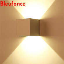 Porch Light Waterproof IP65 Aluminum Wall lamps led bulbs AC110V-260V Sconce Indoor Outdoor Up and Down Waterproof Wall lights01