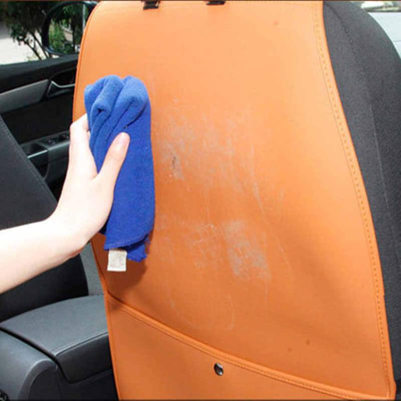 カーシートバックプロテクターカバー子供アンチキックパッドマットから保護します泥汚れ用起亜モハビniroオプティマpicantoリオ3 k2 kx5