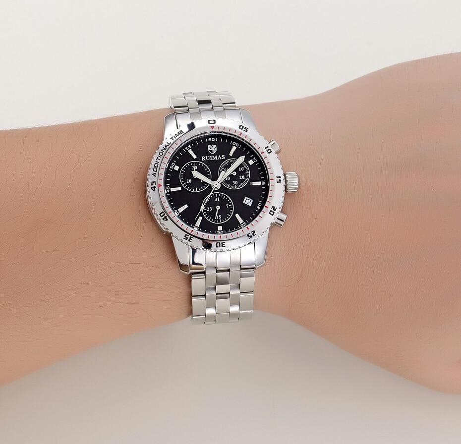 RUIMAS Швейцария Watch брендтері Спорттық - Ерлердің сағаттары - фото 5