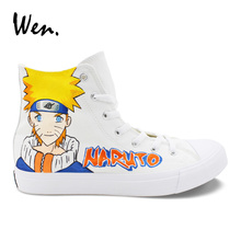 74f1f377d97653 Buy hand painted naruto shoes and get free shipping on AliExpress.com