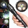 5 mode CREE XM-L T6 LED 4000LM Aluminum Torches Zoomable LED Flashlight Torch Lamp