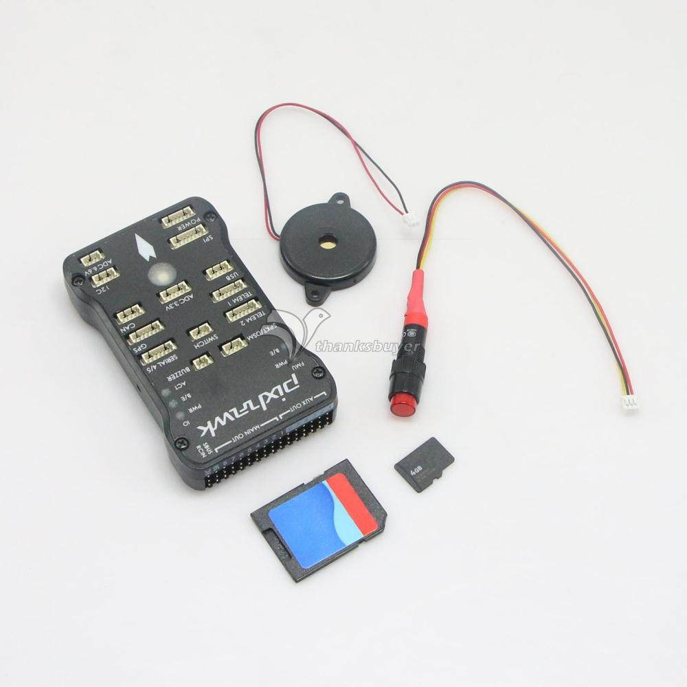 Gold plated Socket Pixhawk PX4 Autopilot PIX 2 4 6 32bit ARM Flight Controller 8G