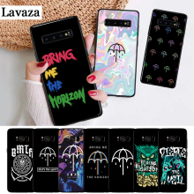 Lavaza Bring Me the Horizon Dust Silicone Case for Samsung S6 Edge S7 S8 Plus S9 S10 S10e Note 8 9 10 M10 M20 M30 M40