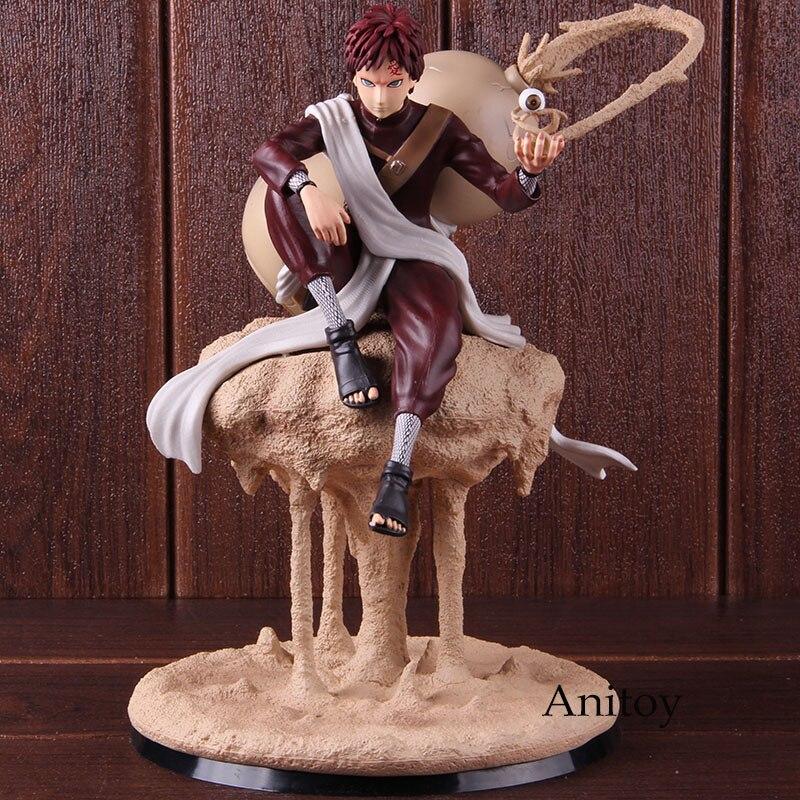Naruto Shippuden Gaara Statue Figure Fighting Version GK Statue PVC Naruto Sabaku No Gaara Action Figure Collectible Model Toy