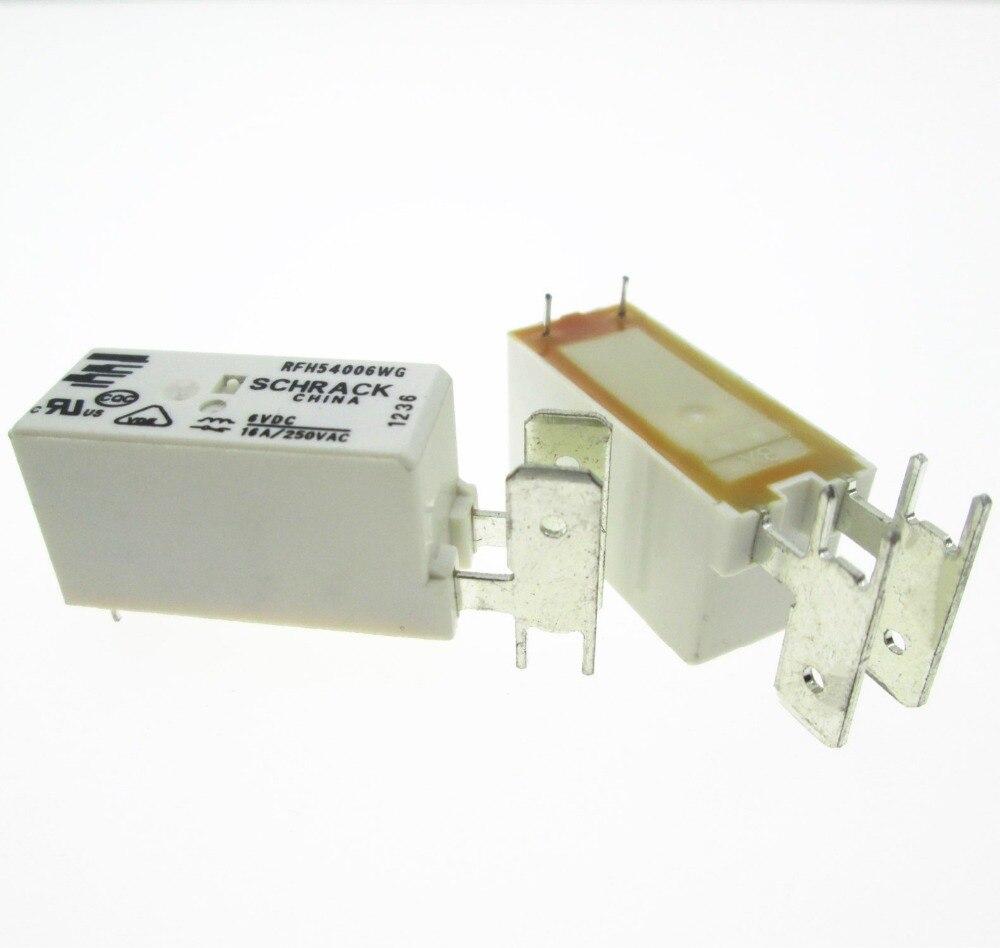 6V relay RFH54006WG 6VDC RFH54006WG-6VDC 6V 6VDC DC6V 16A 250VAC DIP стоимость