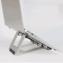 All aluminum outdoor travel must-have accessories bracket Lazy Desktop Folding portable flat adjustment support frame