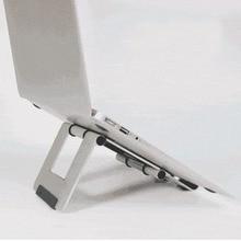 All aluminum outdoor travel must-have accessories bracket Lazy Desktop Folding portable flat adjustment support frame portable