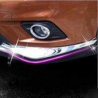 2pcs Set ABS Chrome Front Bumper Corner Protector Cover Trim For 2014 2015 Nissan X Trail
