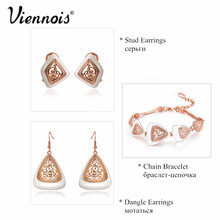 Rose Gold Color Pendant Necklaces for Women