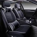 Два передних сидений охватывать Полный кожа люкс сиденье автомобиля включает подушки новый бутик салона стайлинга автомобилей