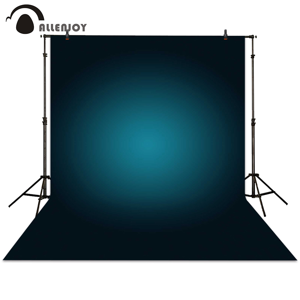 Allenjoy photography backdrop black blue blur hazy background for photo studio photocall photographic