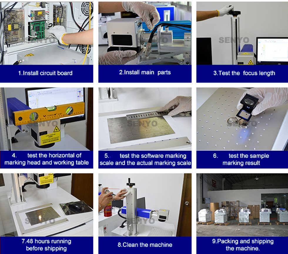 Cheap price 10w 20w 30w 50w Laser metal engraving machine color Laser Wire engraving Marking Machine for sale