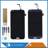 Black Dark Blue Color For Doogee BL5000 LCD Display Touch Screen Digitizer Assembly High Quality With