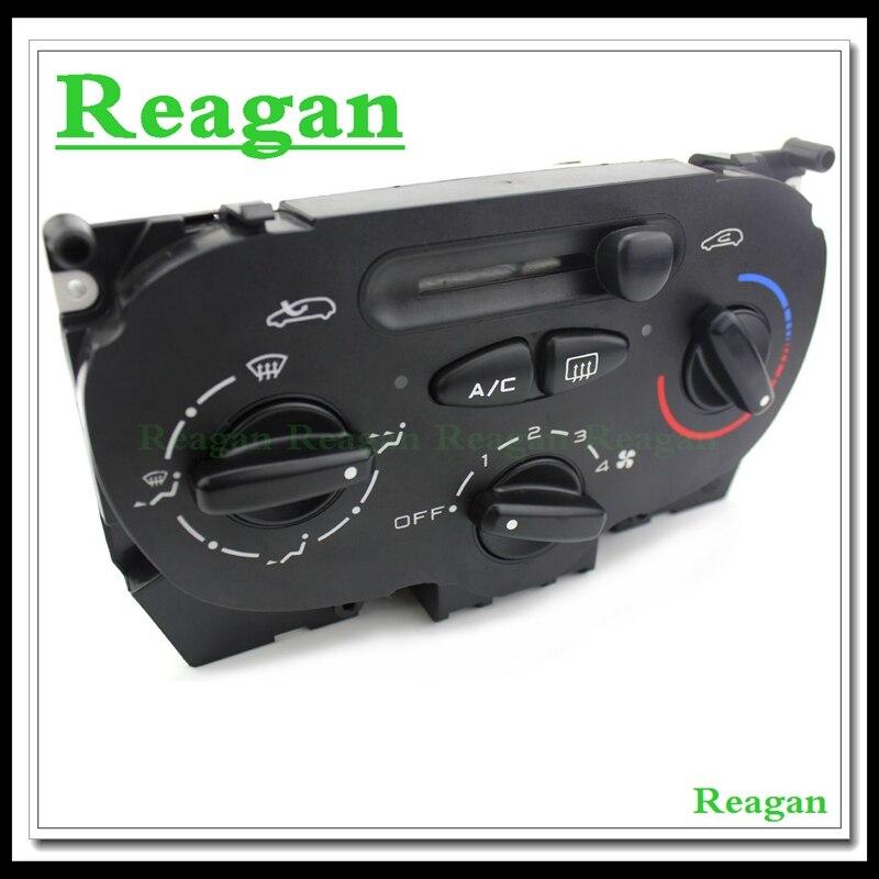 Hoge Kwaliteit Air AC Heater Panel Klimaat Schakelaar voor Peugeot 206 207 307 C2 Citroen Picasso 9624675377X666633 H