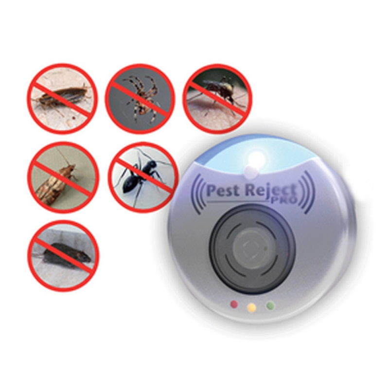 Electronic Ultrasonic Pest Repeller Mosquito Rejector Mouse Rat Mouse Repellent Anti Mosquito killer Rode цена