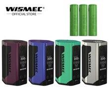 [Official Store] Original Wismec Reuleaux RX GEN3 TC Mod Box 300W Output With 18650 battery Electronic cigarette Vape Box Mod