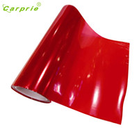Dropship Hot Selling Red Color Chameleon Change Auto Tint Vinyl Wrap Sticker Headlight Film Car Light