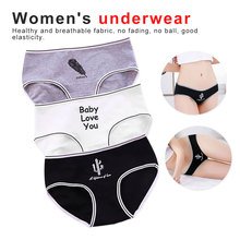 Newest Lovely Black White Cactus Underwear Lady large Size Summer Grace Lace Bow Girls Lingerie Cute Brief Women Med-Rise