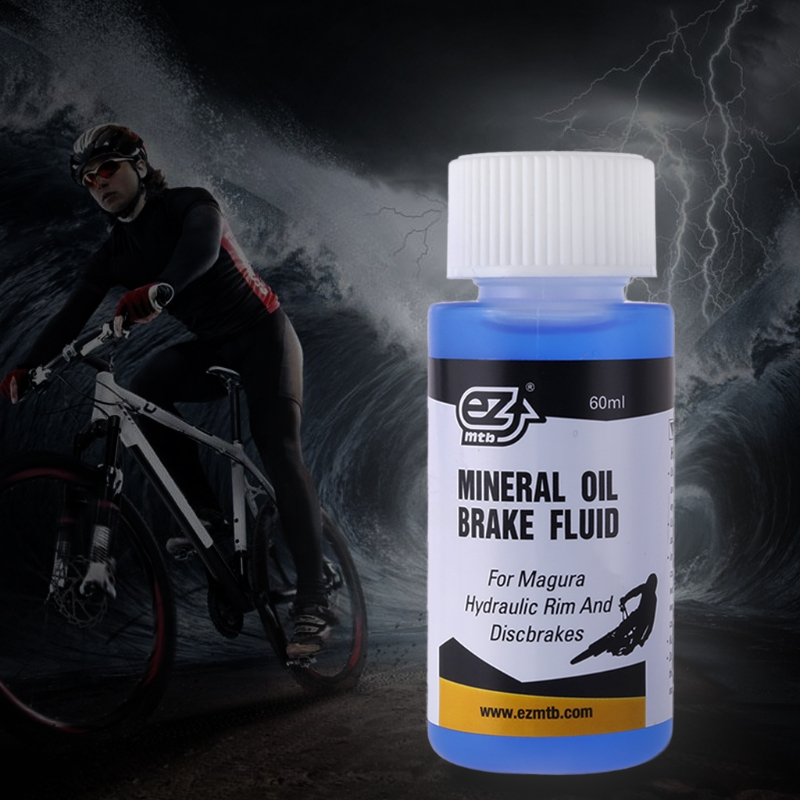 Ezmtb Mineral Oil Brake Oil 60ml Bicycle Disc Brake Oil Magura Hydraulic Mineral Lubricant Mountain Bike