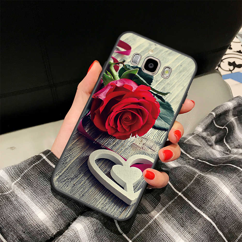 Cute Cats Printed Case For Samsung Galaxy A6 A8 Plus 2018 Note 8 9 S6 S7 Edge S8 S9 J7 J3 2016 J5 A3 A5 A7 2017 Soft Phone Cover