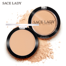 SACE LADY Compact Powder Oil Control Matte Makeup Setting Pressed Powder Pores Invisible Mate Make Up Natural Finish Cosmetics цена