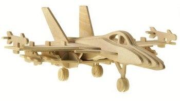 BOHS Scale Building Toys F-18 Hornet Bomber  3D Child 3D Jigsaw Handmade Model  DIY 3.8*12*9.8CM