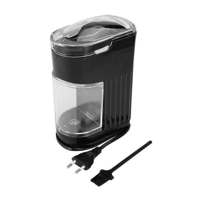 Multifonctionnel ménage électrique moulin à café en acier inoxydable grain épice fabricant rectifieuse rapide moulin à café EU Plug