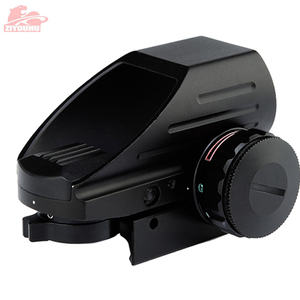 Image 3 - Holographic Red/Green Dot Sight Scope 4 Reticle Reflex Sighting Hunt Optics Tactical Airsoft Riflescope 20mm Rail Mount on Rifle