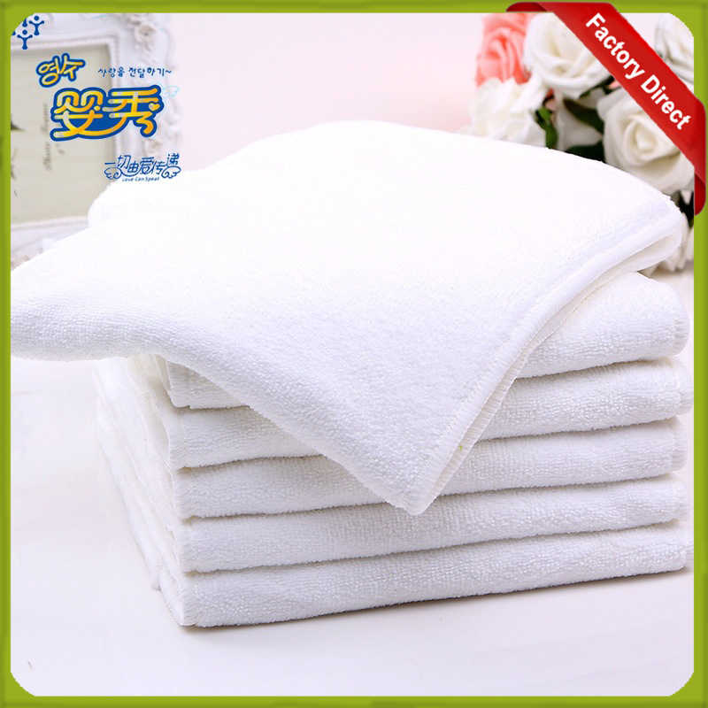 Reusable Adult Diaper Inserts Absorbent For Adult Cloth Diaper 4 Layers Microfiber Diaper Liners Washable Diaper Insert 20X49Cm