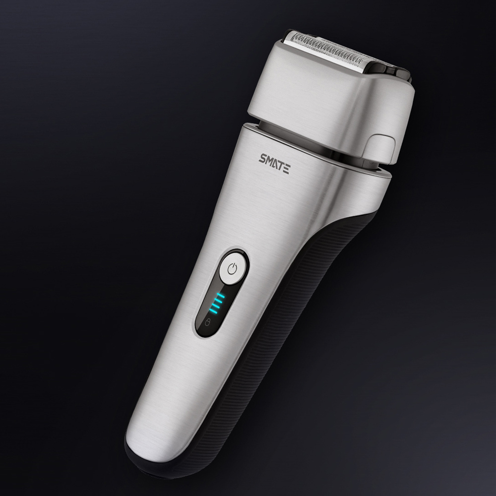 Xiaomi Mijia SMATE Electric Razor Reciprocating 4 Blade Electric Shaver 3 Minute Fast Charge Water Resistant Men Male Shaver - 6