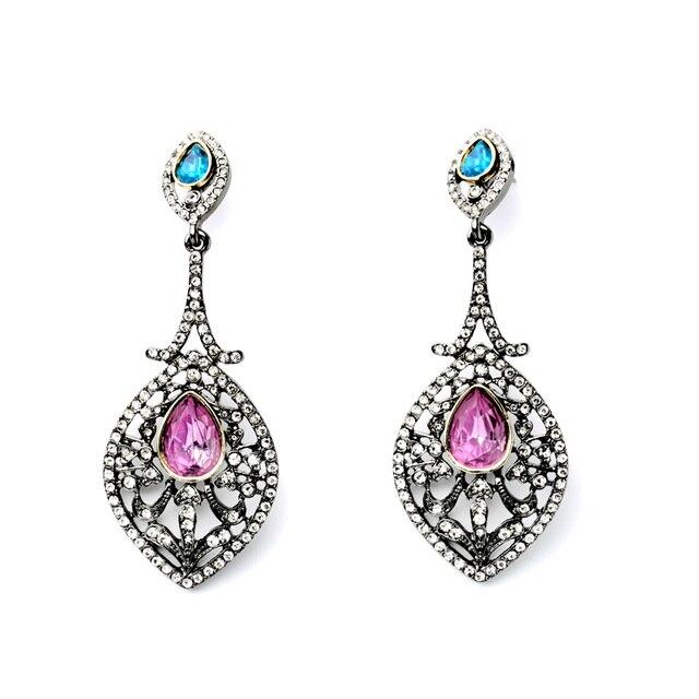 New Design Mei Red Artificial Gems Party Earrings Online Best Ing Bijouterie
