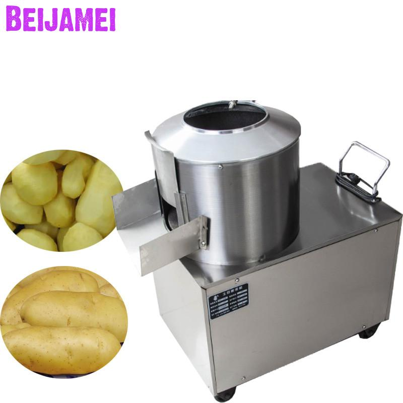 Us 5734 6 Offbeijamei 500kgh Automatic Industrial Potato Taro Peeler Skin Removing Machine Potato Washing Peeling Machine Price In Electric