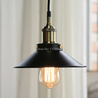 Retro Vintage Industrial Style Metal Ceiling Light Lamp  With Edison Bulb E27 Restaurant Cafe Home Decoration